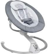BabyGo 'Homey' elektrische Babyschaukel, Grau
