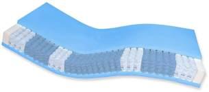AM Qualitätsmatratzen | Premium 7-Zonen Taschenfederkernmatratze H1 - 90x200 cm