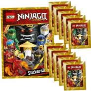 CAGO Lego Ninjago - Legacy - Sammelsticker - 1 Album + 10 Tüten + Collect-it Sleeves