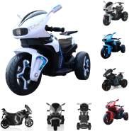 Kinder Elektromotorrad Shadow Scheinwerfer Musikfunktion MP3-Ausgang LED-Licht weiß