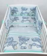 Babylux 'Bäre Minze' Kinderbettwäsche 40 x 60/100 x 135 cm