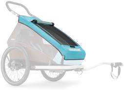 Croozer - Verdeck 2in1 für Kinderanhänger Kid Plus 1 Sky Blue