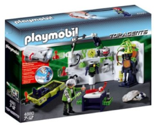 PLAYMOBIL® 4880 - Robo-Gangster Labor mit Multifun