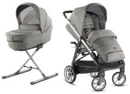 Inglesina 'Aptica – Kit System Duo' Kinderwagen 2 in 1 2020, Mineral Grey