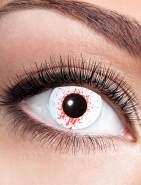Zoelibat Kontaktlinse Bloodsplat dpt. -1,0 bis -4,0, Größe: -3,0 Dioptrien