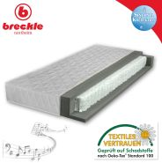 Breckle 'Sinfonia 300 TFK H2' Taschenfederkernmatratze H2, 140x200 cm