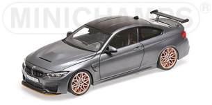 1:87 BMW M4 GTS F82 - 2016 - mattgrau mit orange-silbernen Felgen