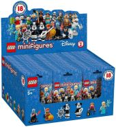 LEGO Disney Minifiguren 71024 'Die Disney Serie 2' 60er Display, 60 x 7 Teile, ab 5 Jahren