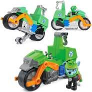 Moto Pups Motorräder | Pull Back Motor und Spielfiguren | Paw Patrol Rocky