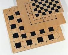 Weiblespiele 02081 - Schachbrett aus Birkenschichtholz, 30 x 30 cm