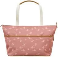 Fresk Wickeltasche Vögel rosa