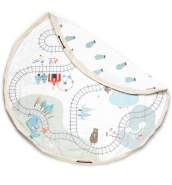 play&go 2in1 Spielzeugsack Trainmap