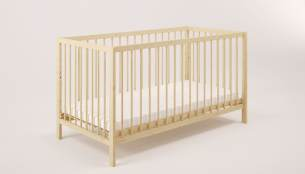 Polini Kids Gitterbett 'Simple 101' natur