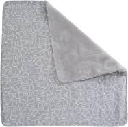 Roba 'Miffy' Kinderdecke grau