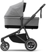Thule - Sleek inkl. Thule Babywanne Black Grey Melange Kollektion 2020