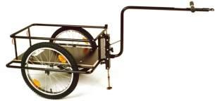 Der Roland- 20' Hochdeichsel Anhänger mit Bodenplatte, Kupplung, Stützfuß, schwarz (1 Stück)