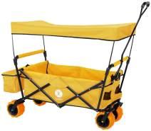 Miweba faltbarer Bollerwagen Orange