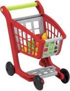 Ecoiffier - Spielzeug-Einkaufswagen mit Obst & Gemüse