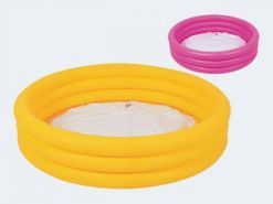 Bestway 51026B - Planschbecken Splash and Play 3-Ring- Pool, circa 152 x 30 cm - 1x Stück, zufällige Farbauswahl