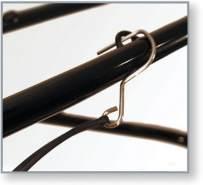 Croozer Unisex– Erwachsene Sicherungssplint-3092049030 Sicherungssplint, Schwarz, One Size