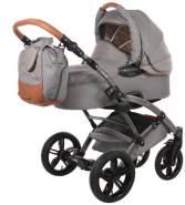 knorr-baby - Kombikinderwagen Voletto Premium Grau