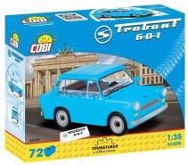 Cobi 24539 'Trabant 601' Modellauto, Maßstab 1:35, mit 72 hochwertigen Elementen