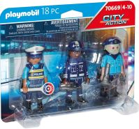 PLAYMOBIL City Action 70669 'Figurenset Polizei'