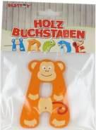 Besttoy Holzbuchstabe 'A' orange
