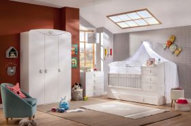 Cilek 'BABY COTTON' 3-tlg. Babyzimmer-Set