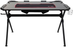Mendler Jugend-Schreibtisch HWC-F11 120x75cm schwarz
