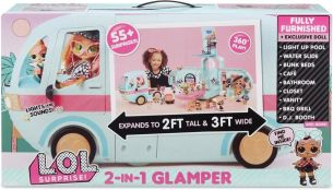 MGA - L.O.L. Surprise! 2-in-1 Glamper