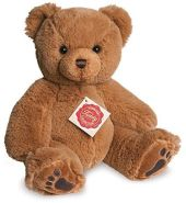 Teddy Hermann 911814 Teddy Plüsch, braun, 25 cm