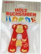Besttoy Holzbuchstabe 'A' rot