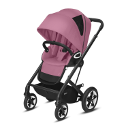 CYBEX Gold 'TALOS S LUX' Buggy 2021 Black/Magnolia Pink