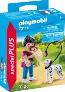 PLAYMOBIL Special Plus 70154 'Mama mit Baby und Hund', 7 Teile, ab 4 Jahren
