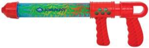 wasserpistole 40 cm 300 ml rot