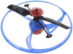 infrarot UFO-Drohne blau