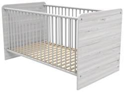 Wimex 'Bornholm' Babybett Eiche 70 x 140 cm weiß