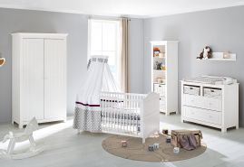 Pinolino 'Nina' 3-tlg. Babyzimmer-Set weiß