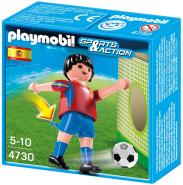 PLAYMOBIL - Fußballspieler Spanien 4730