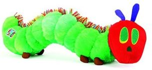 small foot 10397 The Very Hungry Caterpillar Plüschtier, Kuscheltier, Grün