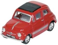 METALS FIAT 500: RED