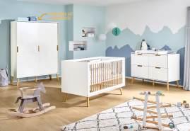 Pinolino 'Edge' 3-tlg. Babyzimmer-Set extrabreit groß