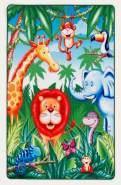Kinderteppich 'Lovely Kids' Im Jungel 100x160 cm