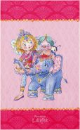 Böing Carpet 'Prinzessin Lillifee - Lillifee und Elefant' Kinderteppich rosa, 140x200 cm