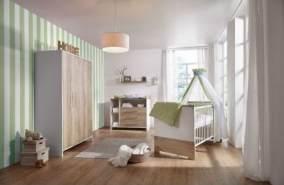 Schardt 'Eco Plus' 3-tlg. Babyzimmer-Set Schrank 3-türig