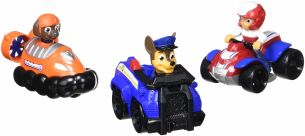 Paw Patrol 6024059 - Rescue Racers 3-Pack (Chase, Zuma, Ryder)
