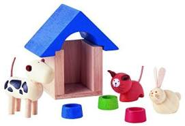 Plan Toys 39731400 39731400-Haustiere