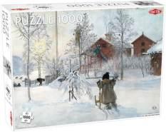 puzzle Wintergarten 1000 Teile