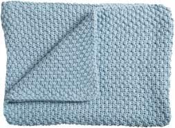 Schardt 'Sunny' Strickdecke hellblau, 75x100 cm
